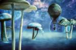 Exploring Planet Mushroom by hankep