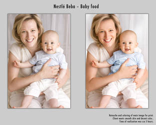 Nestle baby food by Pather