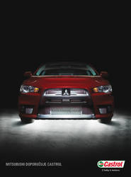 Mitsubishi recommends Castrol by Pather