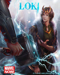 Loki Agent of Asgard by jiuge