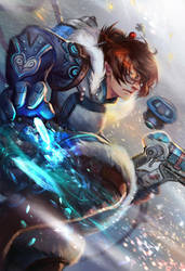 Overwatch Mei and see you at Fan expo by jiuge