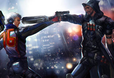 Overwatch Dual by jiuge