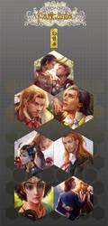thor loki fan art postcard set on sale by jiuge