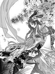 illustration for the novel by jiuge