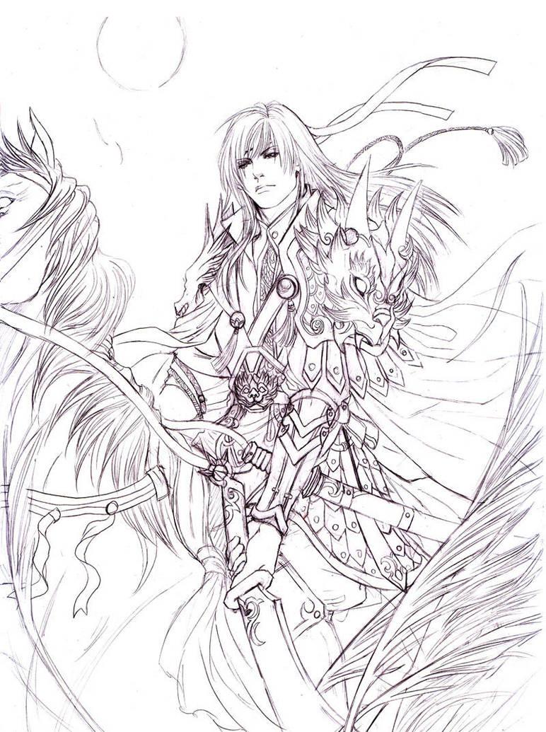 3 kingdoms card---zhouyu by jiuge