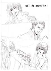 draft page ---DMC3 doujinshi by jiuge