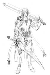 characterdesign-ash, age 24 by jiuge