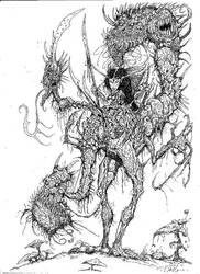 Dragon Elfe by Ulfberht-Blade