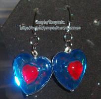 Heart Piece LOZ Earrings by CosplayPropsEtc