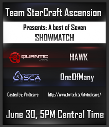 Showmatch Banner for Team .SCA by AmbroseFx