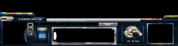 StarCraft II: UTA E-Sports Team Streamer Template by AmbroseFx