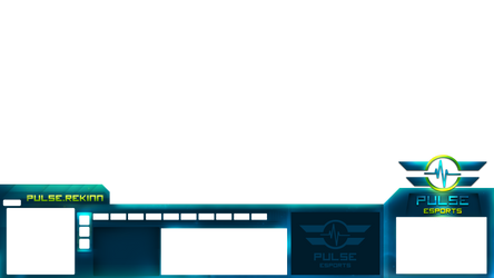StarCraft Overlay: Pulse eSports by AmbroseFx