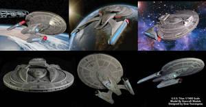Starcraft USS Titan by stourangeau