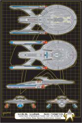 U.S.S. Luna Commission-Glaslyn by stourangeau