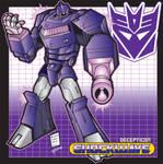 Decepticon CMDR Shockwave by stourangeau