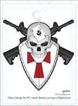 Tattoo Commission PFC Josiah Weaver by stourangeau