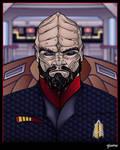 Captain Klaang Bust Commission by stourangeau