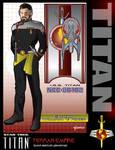 Dark Mirror Captain Riker by stourangeau