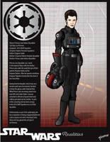 Imperial Princess Leia Skywalker by stourangeau