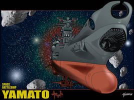 SpaceBattleshipYamatoWallpaper by stourangeau