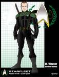 Starfleet Marine Lt Weaver by stourangeau