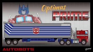 Generation One Optimus Prime by stourangeau