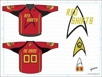 Red Shirts Hockey by stourangeau