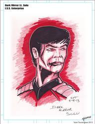 Dark Mirror Lt. Hikaru Sulu by stourangeau