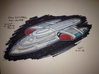 U.S.S. Kestrel sketch by stourangeau