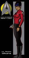 Lt. Uhura by stourangeau