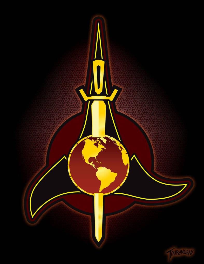TOS-ERA Klingon-Terran Emblem by stourangeau