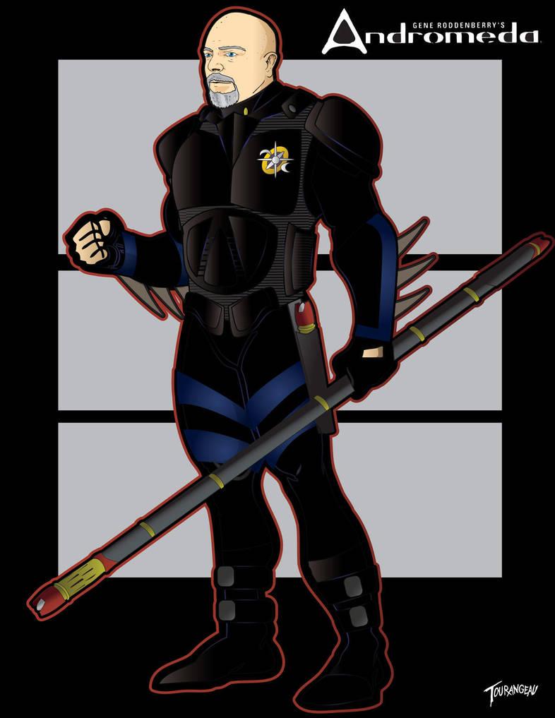 Andromeda Armor Judd by stourangeau