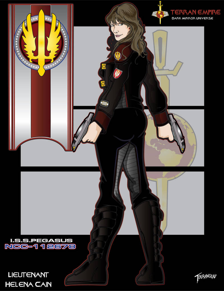 Lieutenant Cain by stourangeau