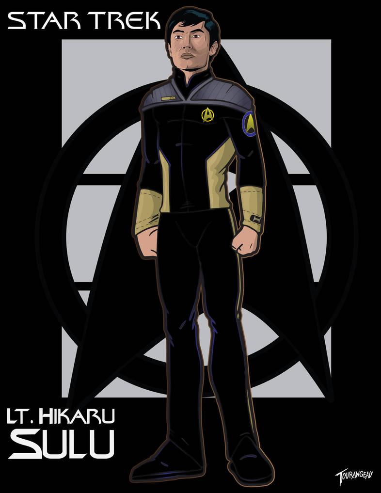 Lt. Sulu by stourangeau
