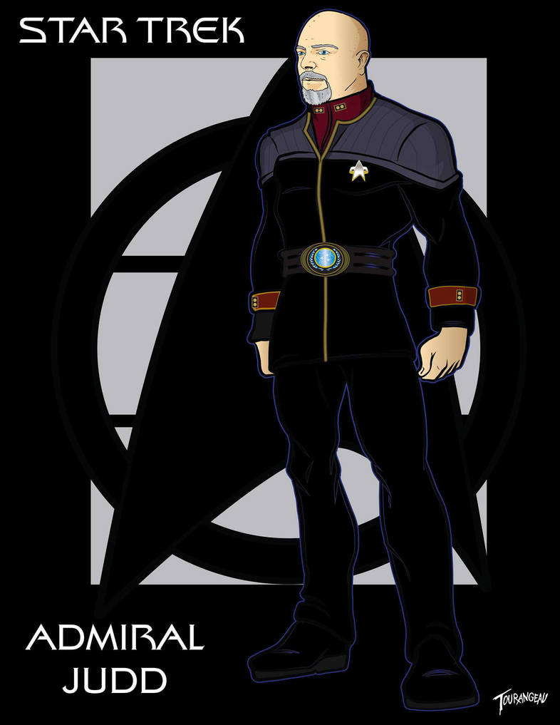 Rear Admiral Judd by stourangeau