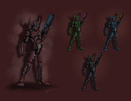 Taurus 2 Color variants by stourangeau