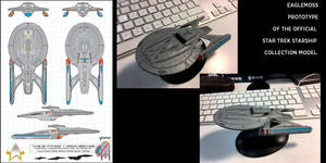 U.S.S.Titan Eaglemoss Prototype by stourangeau