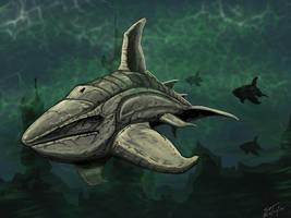 Alien whale concept. by stourangeau