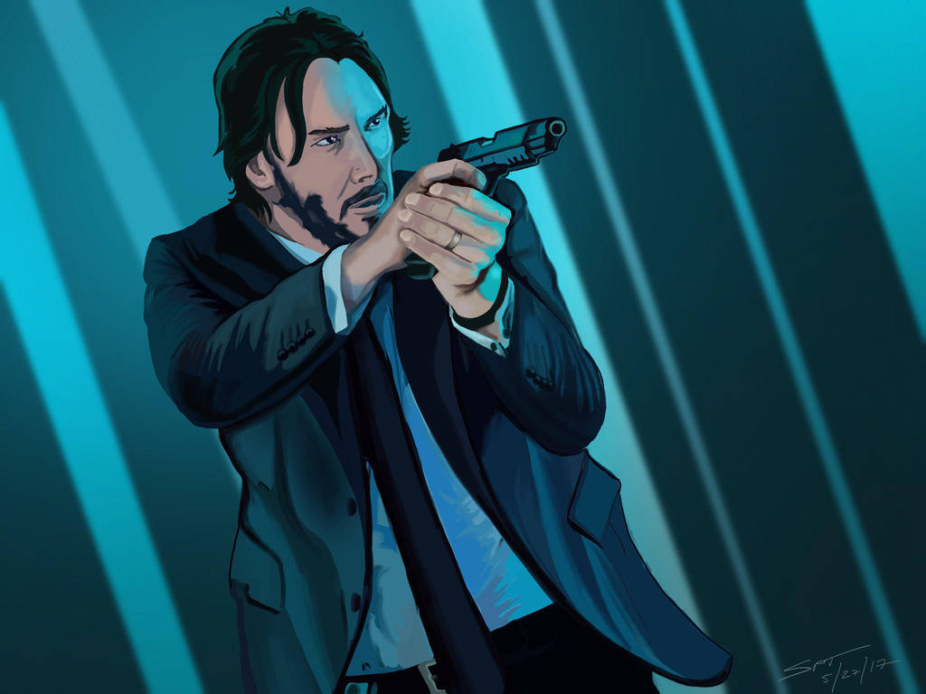 Mr. Wick by stourangeau
