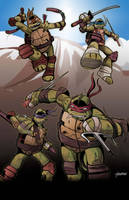 TMNT - Zombies by stourangeau