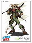 Sgt Whiskers - Action Mice by stourangeau
