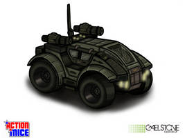 Action Mice vehicle concept Cheetah by stourangeau