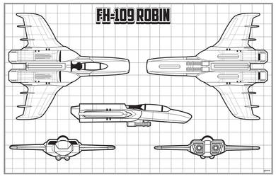 Earth-Link Origins FH-109 Robin schematic by stourangeau