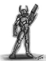 Taurus the bounty hunter by stourangeau
