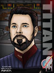 Captain Riker by stourangeau