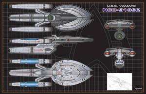U.S.S.Yamato 1 by stourangeau