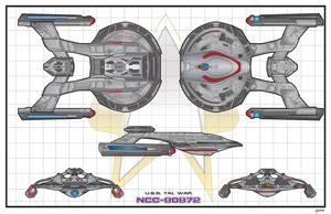 USS Tal War by stourangeau