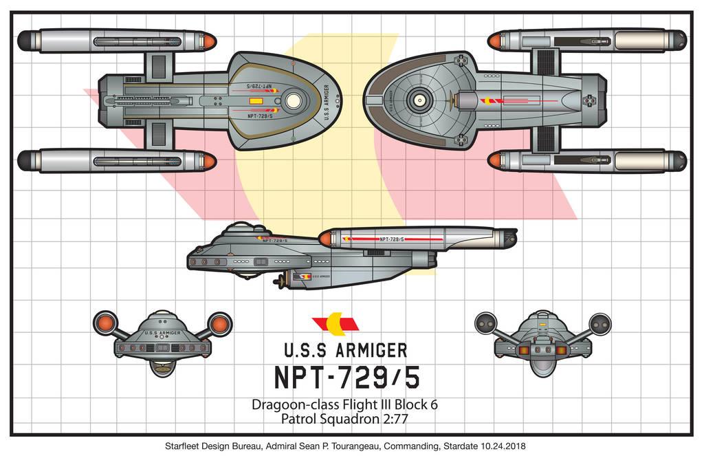 USS ARMIGER by stourangeau