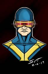 Cyclops headshot by stourangeau