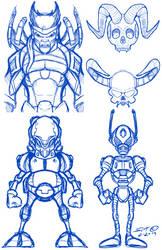 Misc doodles by stourangeau
